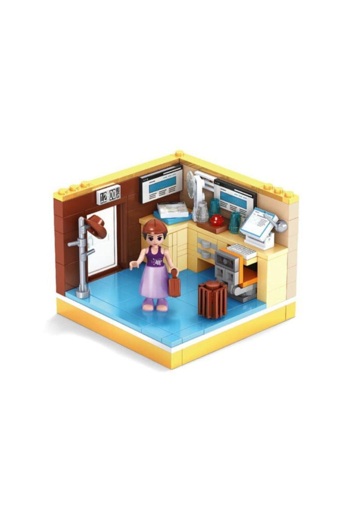 Ausini Lego Life Çalışma Odası Ev Seti 1