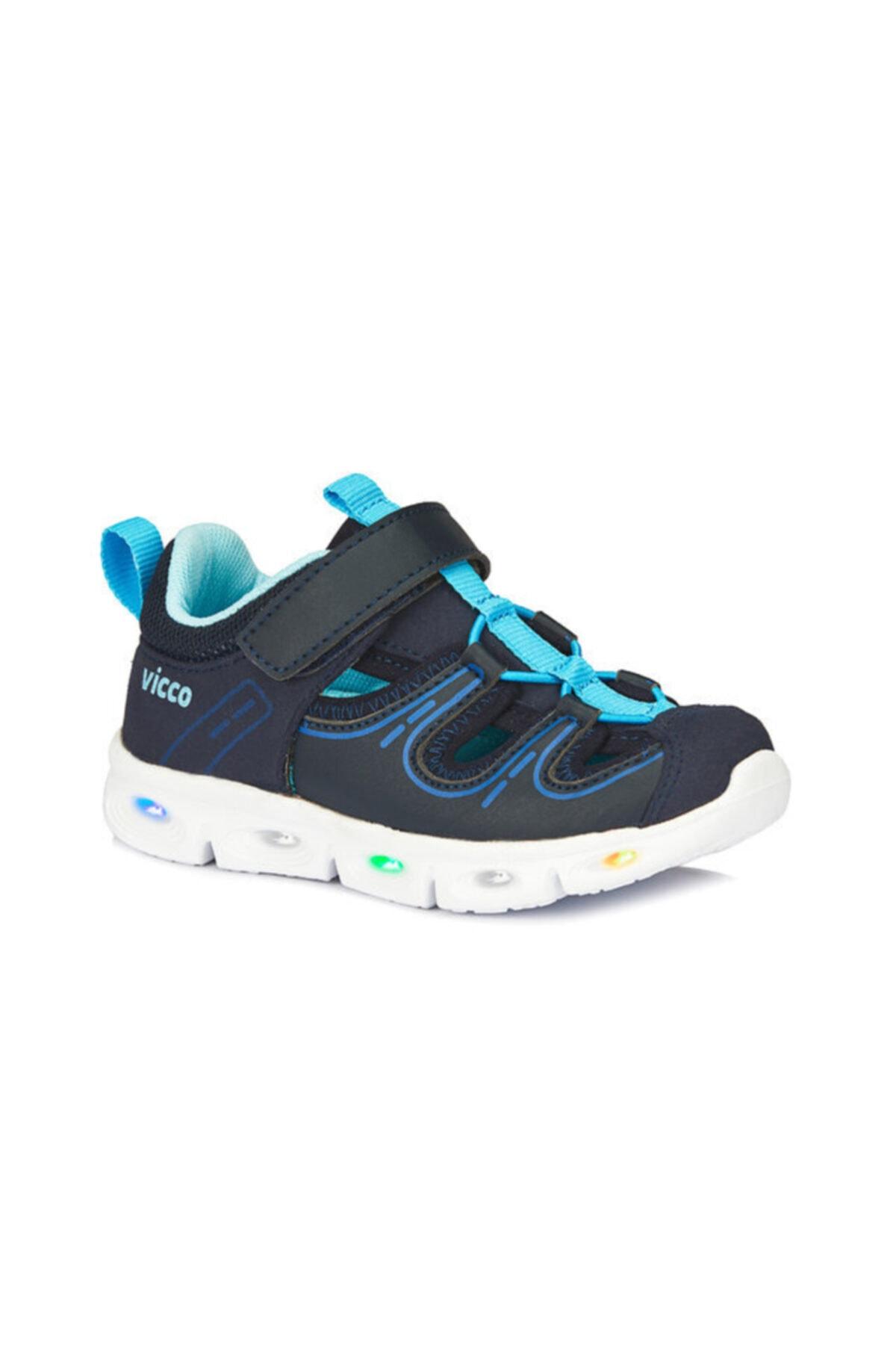 Vicco Erkek Çocuk Işıklı Sandalet 1