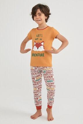 Penti Çok Renkli Erkek Çocuk Summer Fox Pijama Takımı  2'li