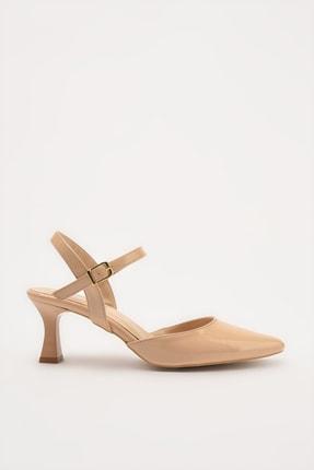 Hotiç Naturel Kadın Klasik Topuklu Ayakkabı 01AYH214400A330