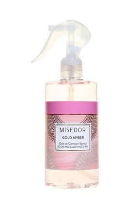 Misedor Gold Amber Oda Ve Çamaşır Parfümü 330 ml