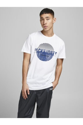 Jack & Jones Bisiklet Yaka T-shirt 12190145 Jcostar