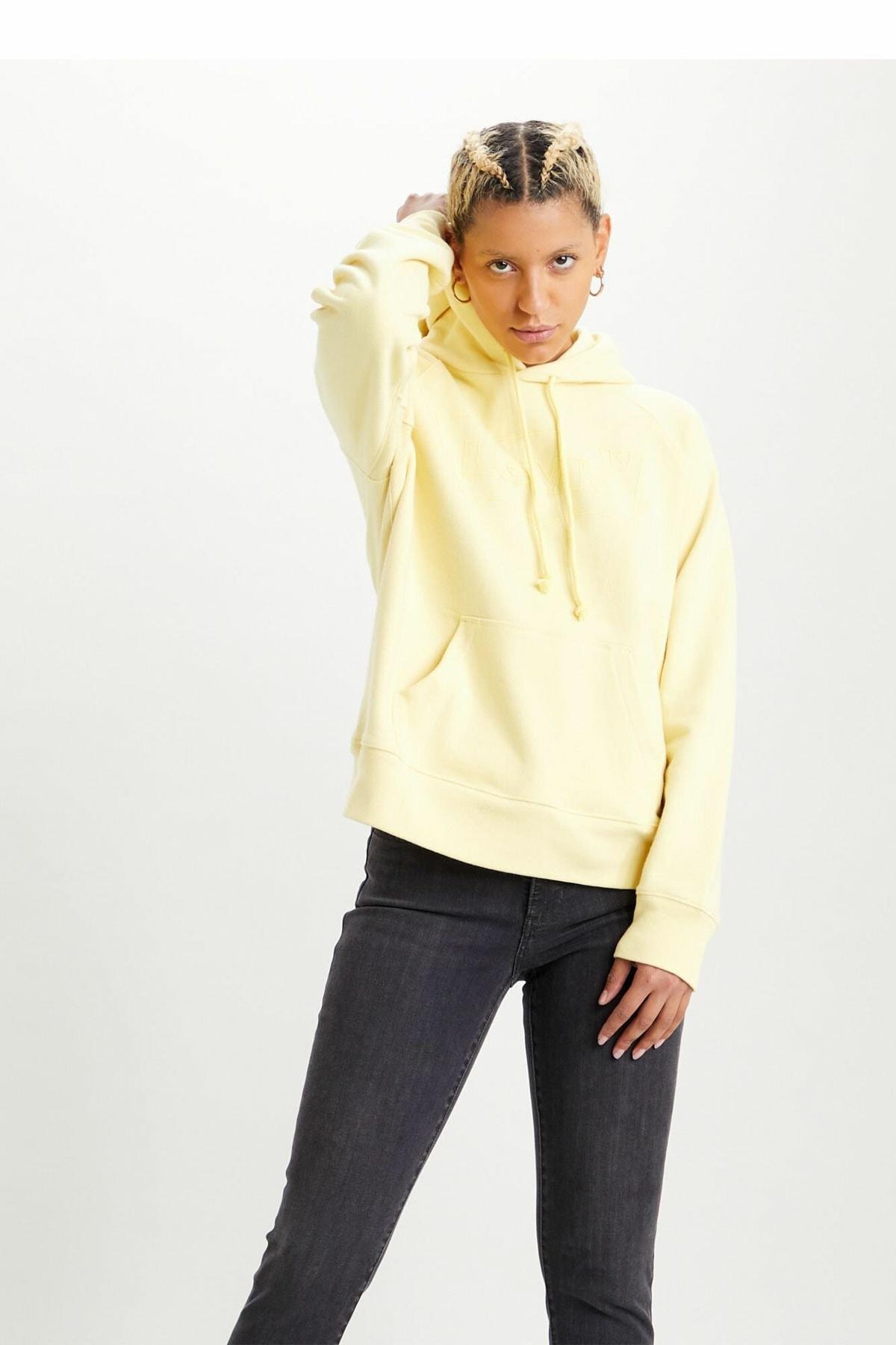 Levi's Kapüşonlu Kadın Sweatshirt 35946-0206-0238 1