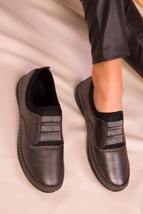 SOHO Platin Kadın Casual Ayakkabı 16151