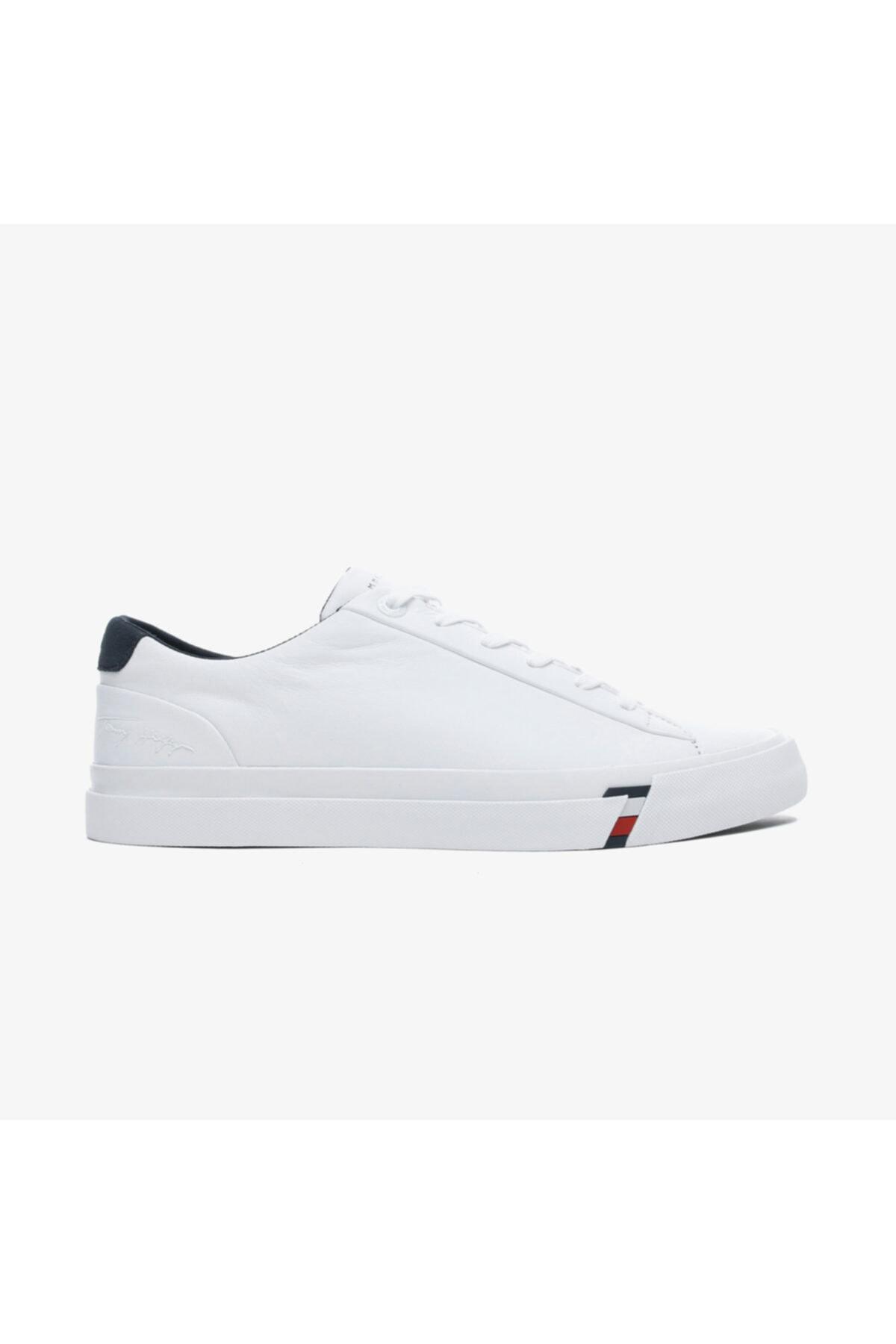 Tommy Hilfiger Corporate Erkek Beyaz Spor Ayakkabı 1