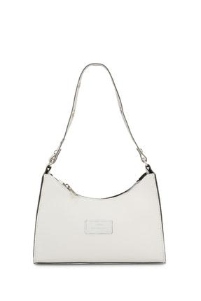 Housebags Kadın Beyaz Baguette Çanta 195