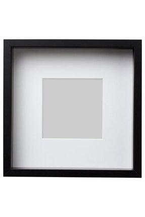 IKEA Siyah Renk Çerçeve Meridyendukkan Ev Dekorasyon 25x25 Cm 1 Adet