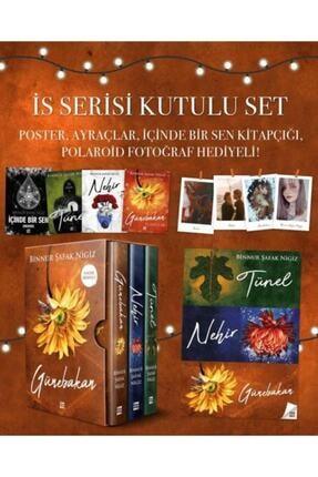 Dokuz Yayınları Nehir - Tünel - Günebakan Iş Serisi Binnur Şafak Nigiz 3 Kitap