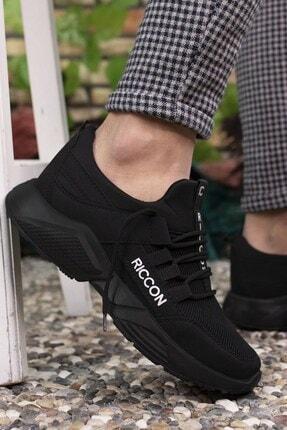 Riccon Siyah Siyah Unisex Sneaker 0012072