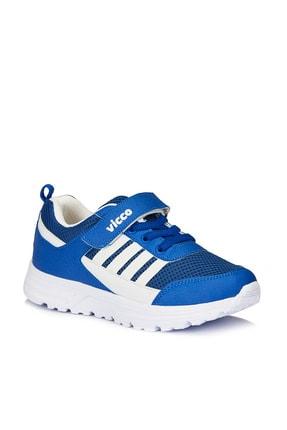 Vicco Yamato Basic Unisex Çocuk Saks Mavi Spor Ayakkabı