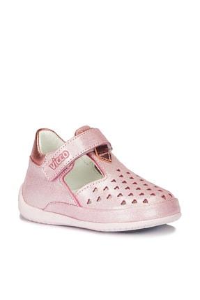 Vicco Kız Bebek Pembe Bandy Ilk Adım Pembe Günlük Ayakkabı