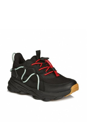 Vicco Baxi Hafif Unisex Çocuk Siyah Sneaker