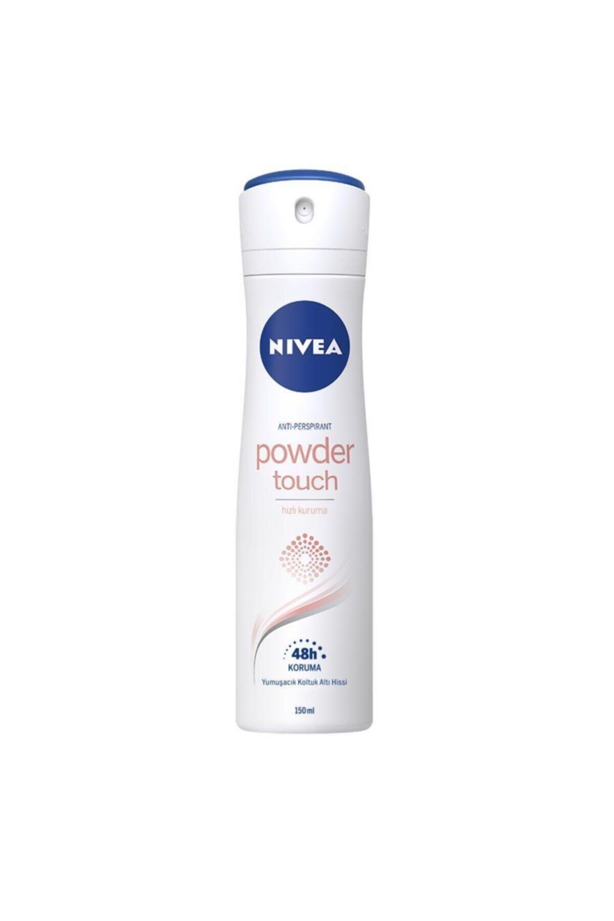 Nivea Powder Touch Kadın Deodorant Sprey 150 ml 1