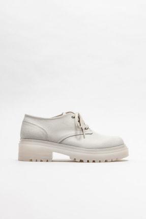 Elle Shoes Kadın  Bej Oxford