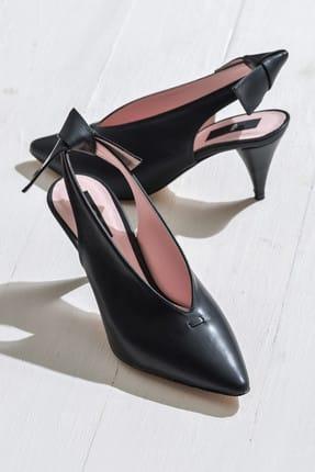 Elle Shoes NELIDAA Siyah Kadın Ayakkabı