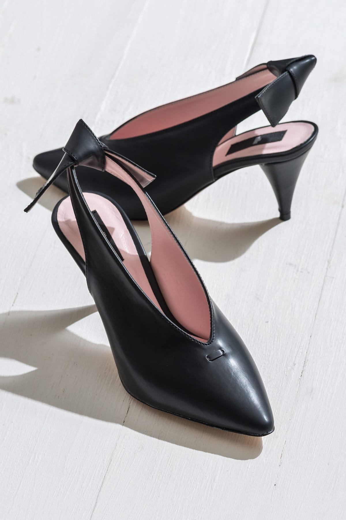 Elle Shoes NELIDAA Siyah Kadın Ayakkabı 1