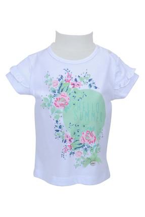 Zeyland Beyaz Kız Bebek T-Shirt 71M2YSR52