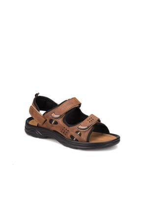 Kinetix LUTHER Kum Rengi Erkek Deri Sandalet 100250023