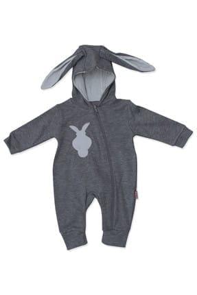 Murat Baby Ponponlu Kulaklı Tavşan Bebek Tulumu K2675