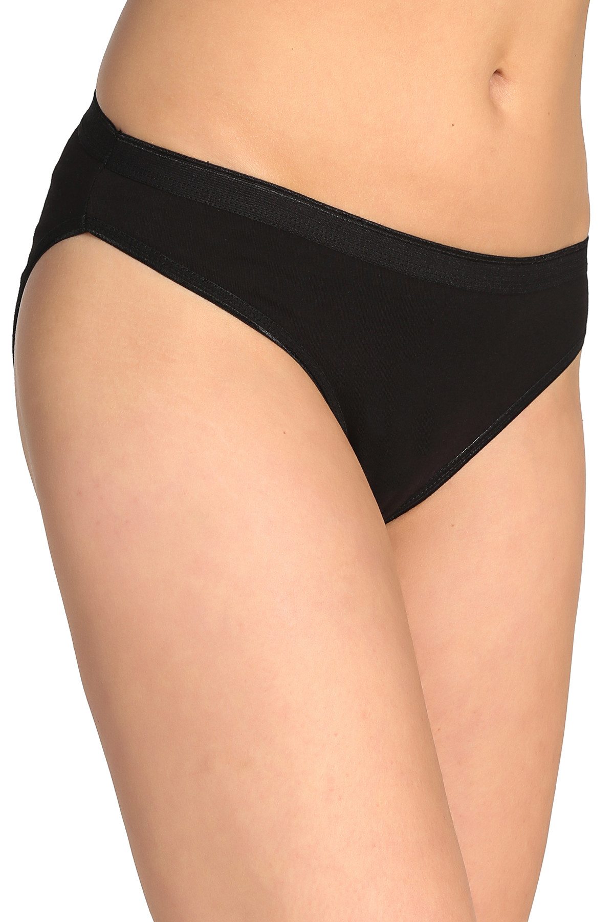 Tutku Kadın Siyah 12'li Paket  Bikini Külot ELF568T0635CCM12 2