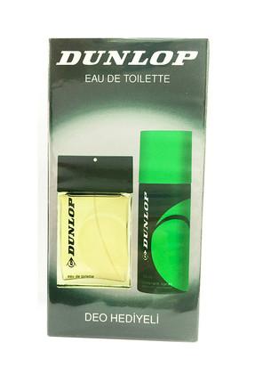 DUNLOP Klasik Yeşil Edt 100 ml + 150 ml Deodorant Erkek Parfüm Seti 8690587502305
