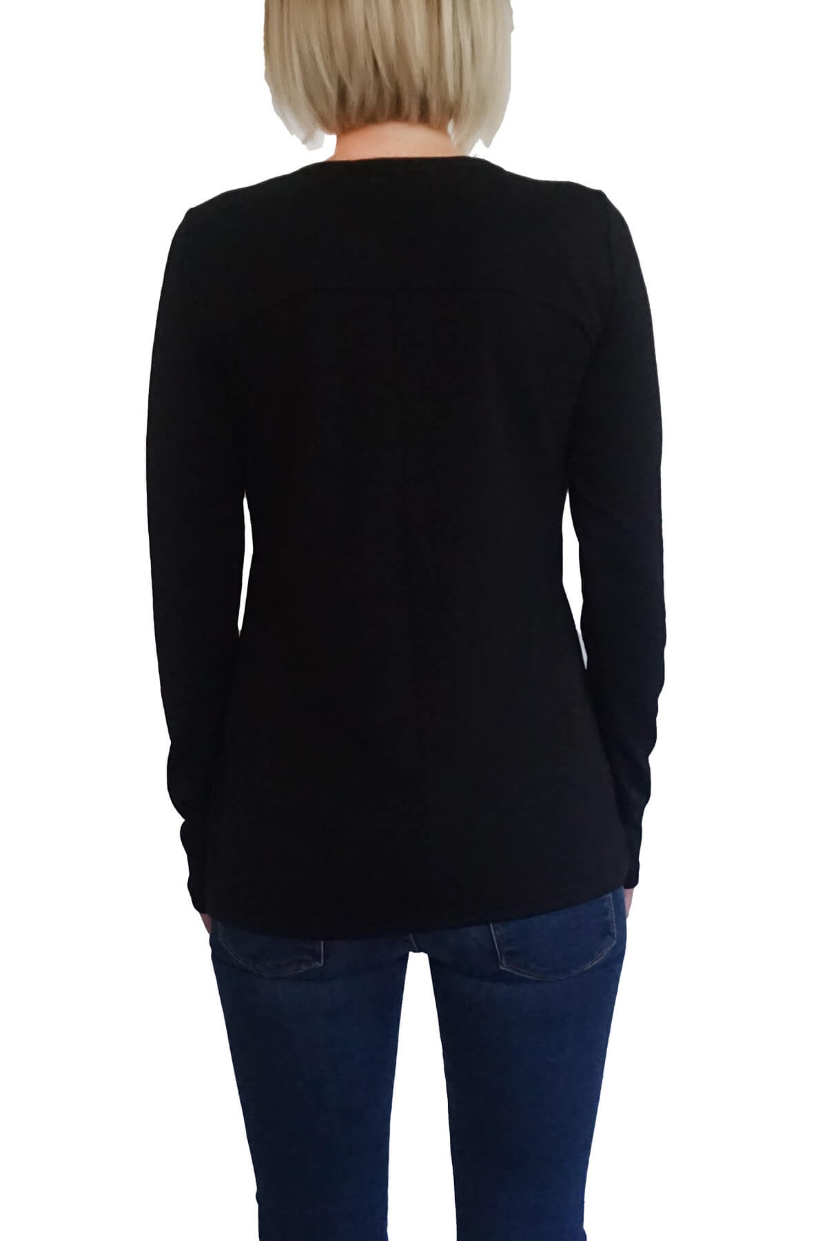 MOF Kadın Siyah T-Shirt UKSYT-S 2