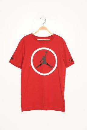 Nike Kids Kırmızı Unisex Çocuk Jordan Iconic T-shirt