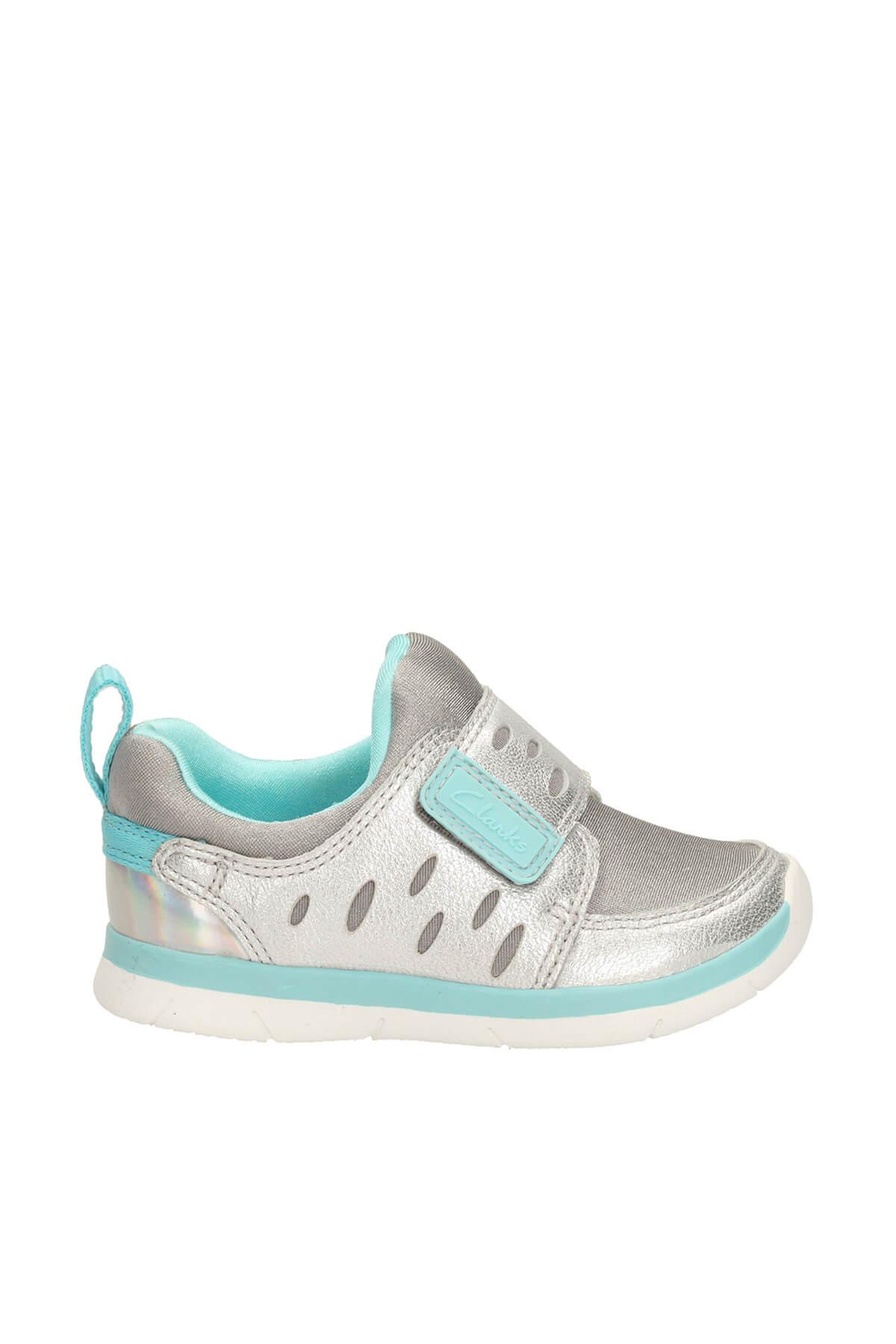 CLARKS Metalik Hakiki Deri Ath Cool Fst Çocuk Ayakkabı 261174567 2