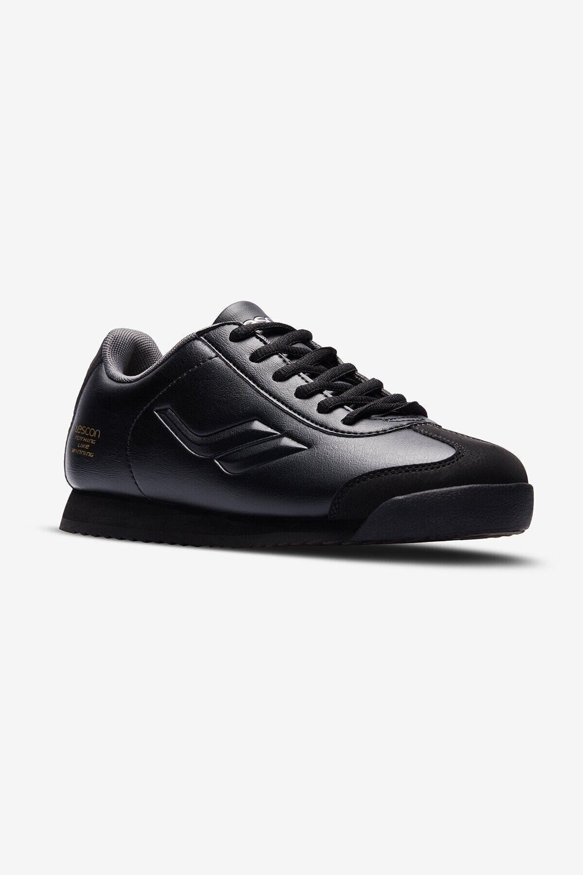 Lescon Kadın Siyah Wınner Sneaker 1
