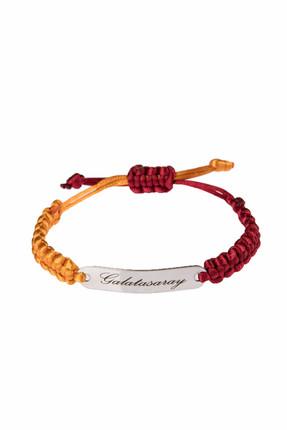Galatasaray Galatasaray Unisex Sarı/Kırmızı Bileklik - K023-U45336