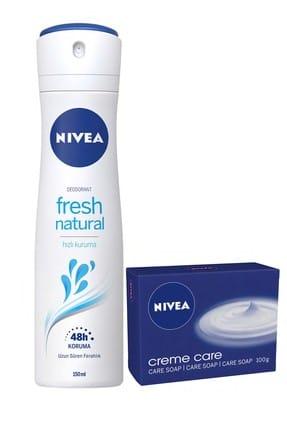 Nivea Fresh Kadın Sprey + Sabun