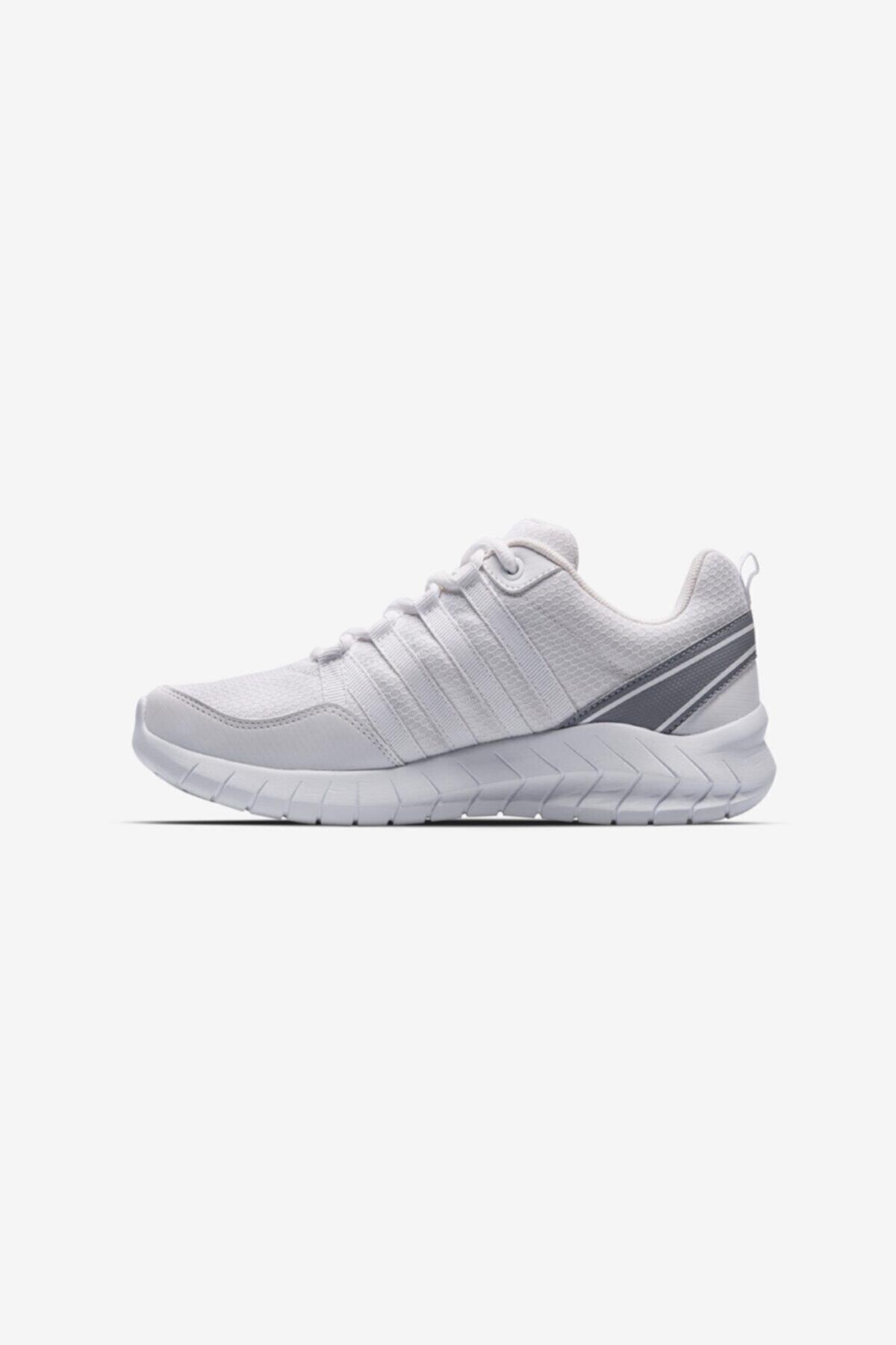 Lescon Unisex Beyaz Bağcıklı Flex Legend Sneaker Ayakkabı 2