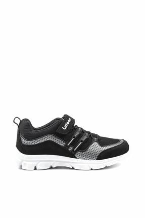 LETOON Siyah Çocuk Spor Ayakkabı - 001F 6322