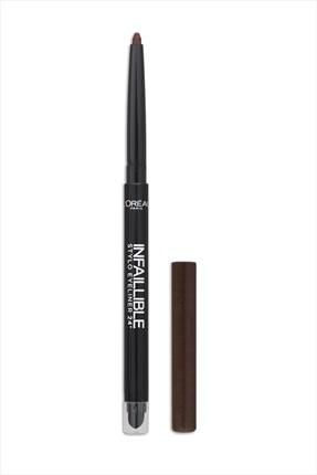 L'Oreal Paris Kahverengi Eyeliner - Infallible Stylo Eyeliner 16H 300 Chocolate Addict 3600521663516