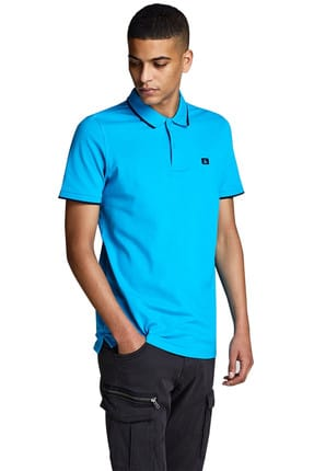 Jack & Jones Polo Yaka T-shirt - Stone Polo SS 12147114