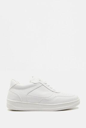 Koton Kadın Beyaz Casual Ayakkabı 9KAL25020AA