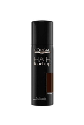L'oreal Professionnel Hair Touch Up Beyaz Dip Kapatıcı Geçici Sprey Saç Boyası 75 ml - Kahverengi 3474630698185