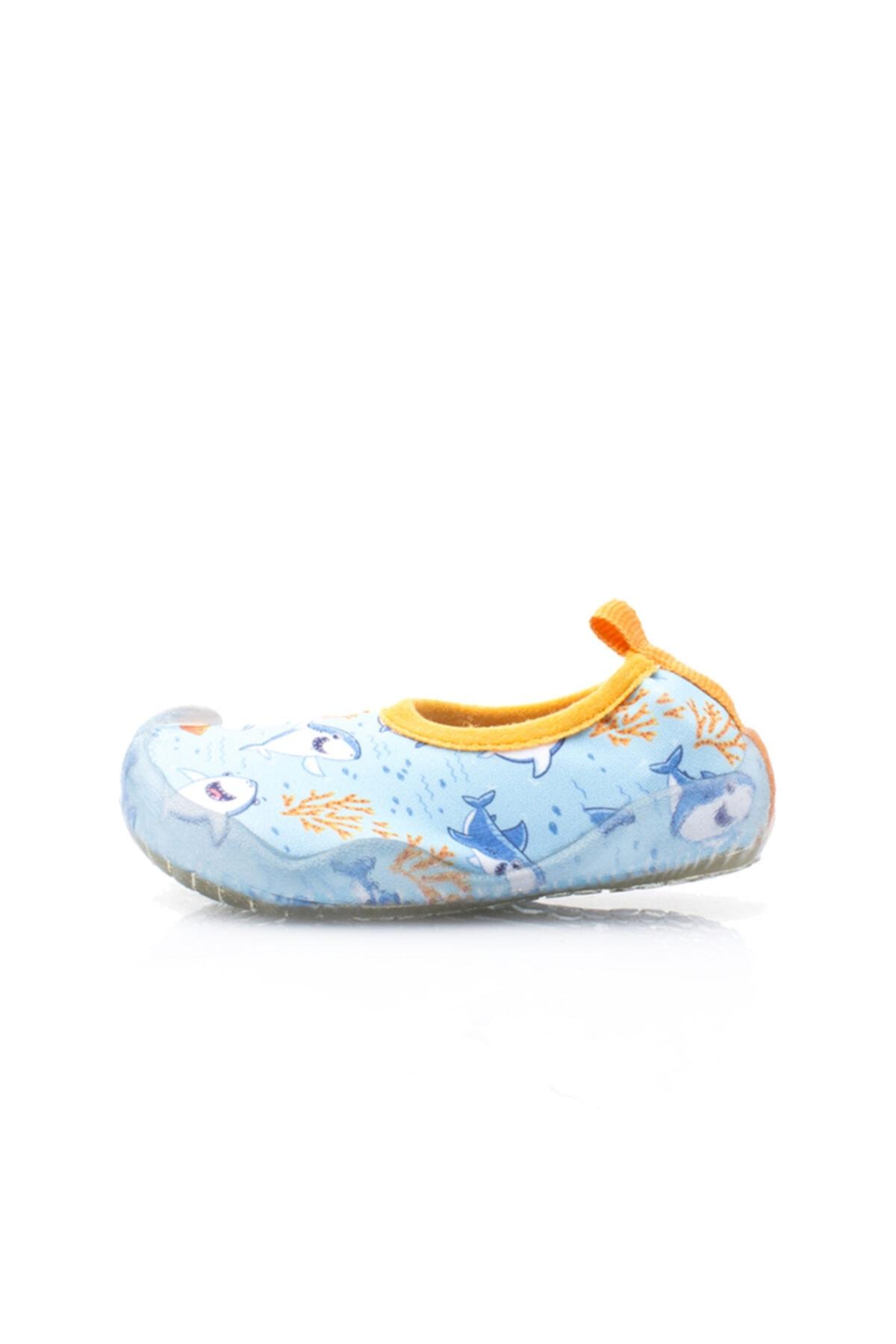 Newborn NAQ2010 AQUA HOLI Açık Mavi Unisex Çocuk Deniz Ayakkabısı 100446148 1