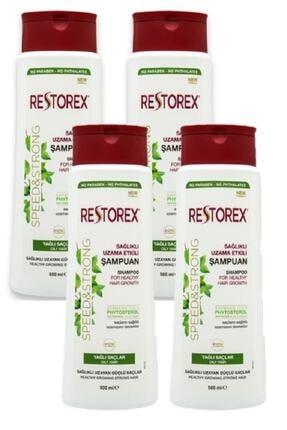 Restorex Şampun Ince Tel & Yaglı Saçlar Için 500 ml - 4 adet