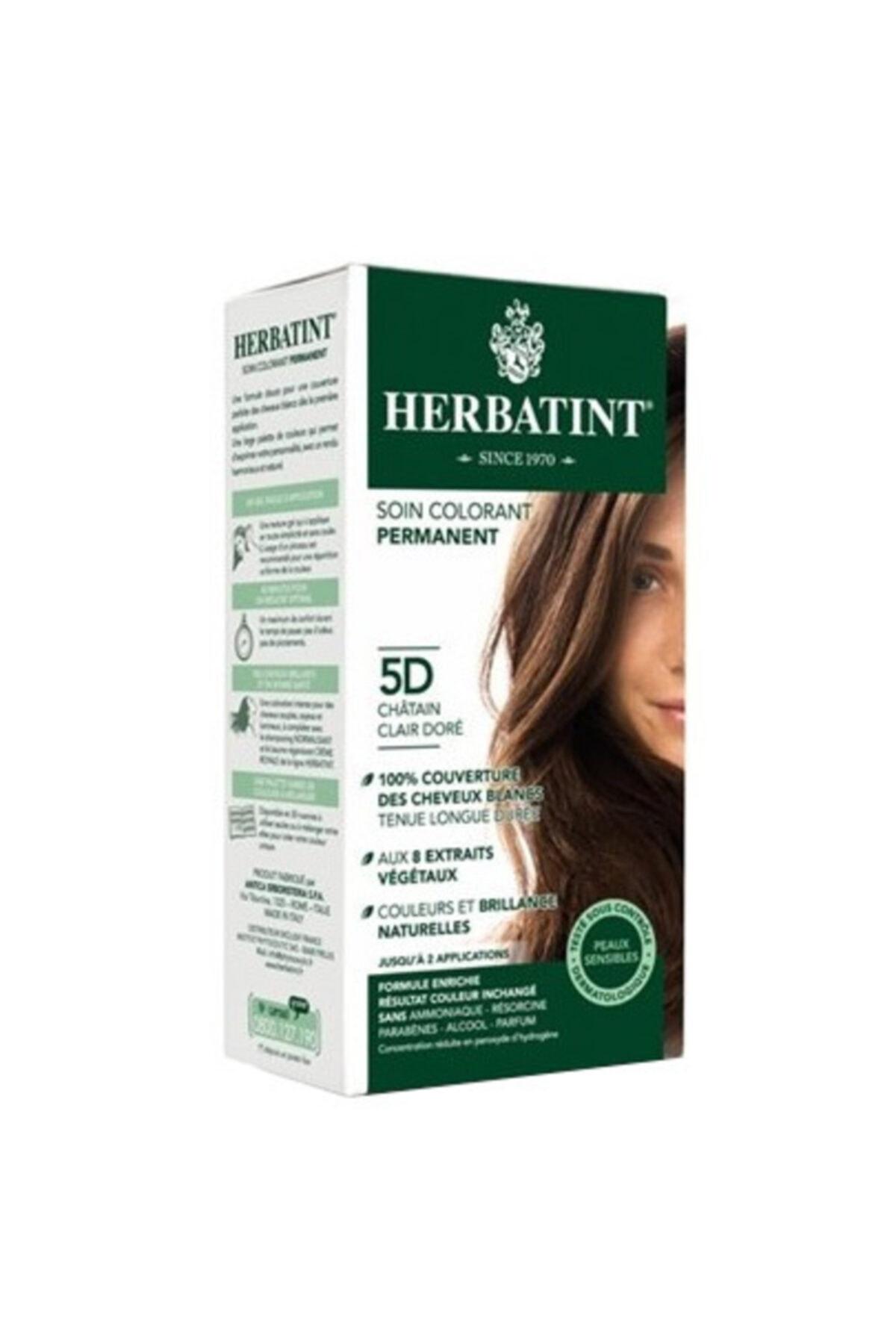 Herbatint Saç Boyası - Light Golden Chestnut 5D Altın Açık Kahve 150 ml 8016744500128 1