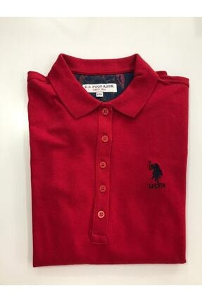 U.S. Polo Assn. U.s Polo Kadın Kırmızı Sweat-shırt Basic