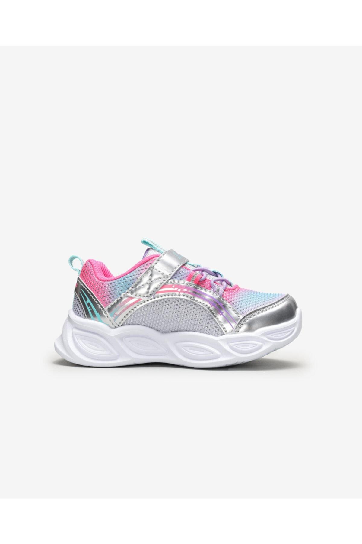 SKECHERS SHIMMER BEAMS - Küçük Kız Çocuk Gri Spor Ayakkabı 2