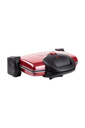 Tantitoni Granit Waffle Plakalı Vişne Izgara ve Tost Makinesi