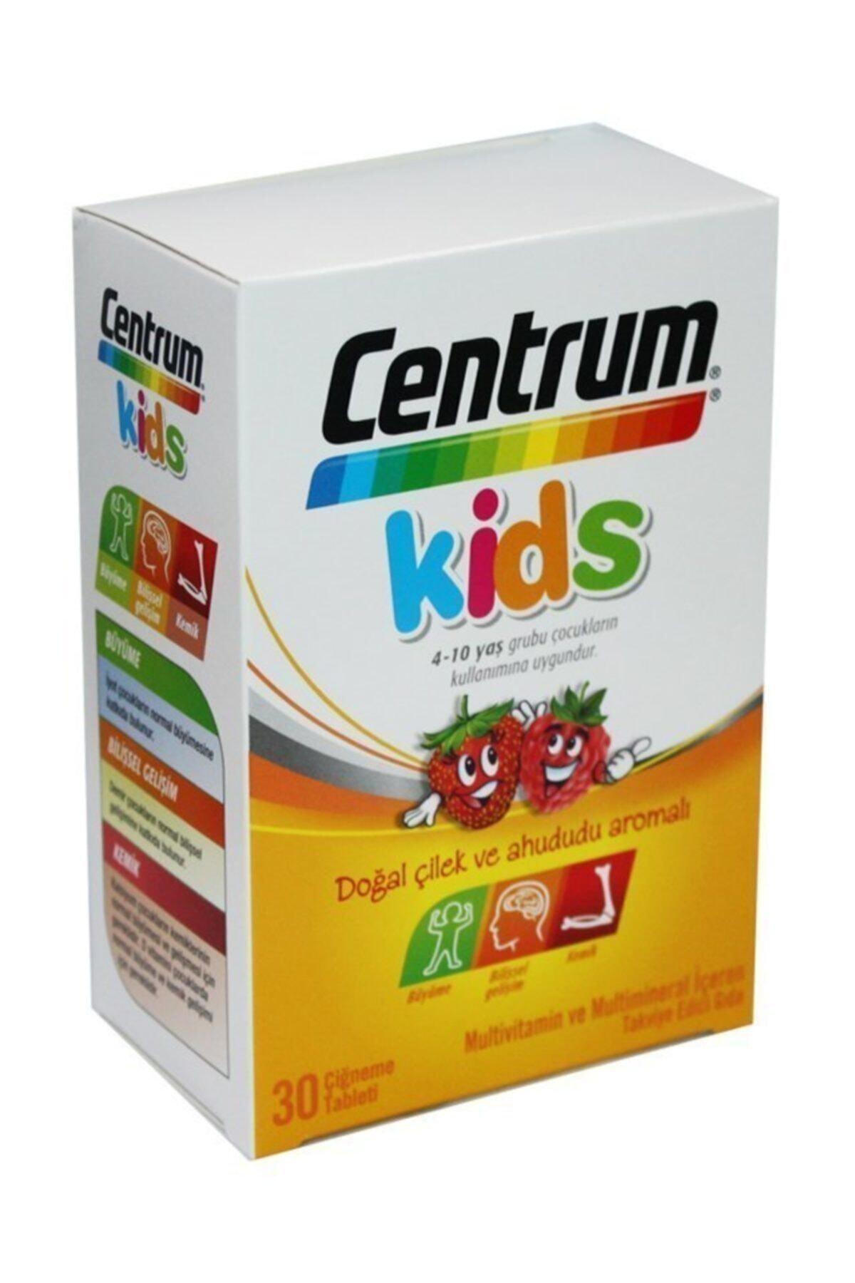 Centrum Unisex Çocuk Kids 30 Çiğneme Tableti 4-10 Yaş 30tablet 1