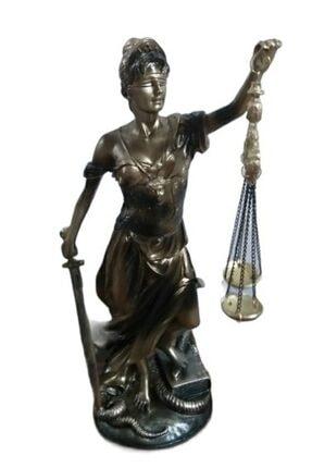 Hızır Adalet Terazisi Biblo Adalet Tanrıçası Themis Heykeli 30 Cm Belirgin Özellikleri Ile Eşsiz