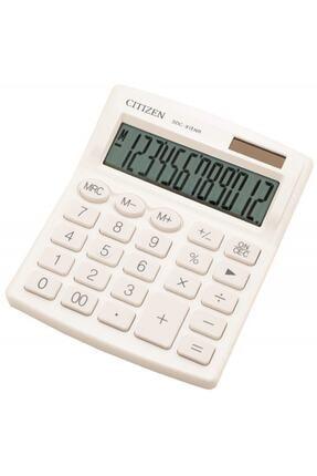 Citizen Beyaz Hesap Makinesi Sdc 812nr