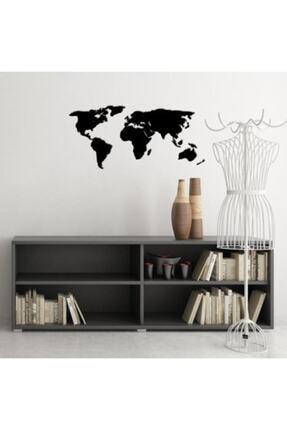 Moda Bodrum Dekoratif Dünya Haritası - 60x140 - Mdf Duvar - 3mm