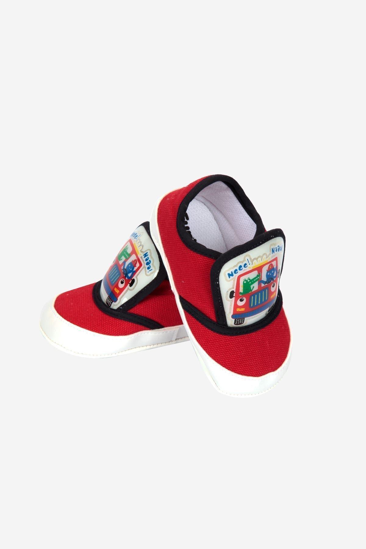 Funny Baby Lastikli Cırtlı Çocuk Yürüyüş Ve Spor Ayakkabısı 2