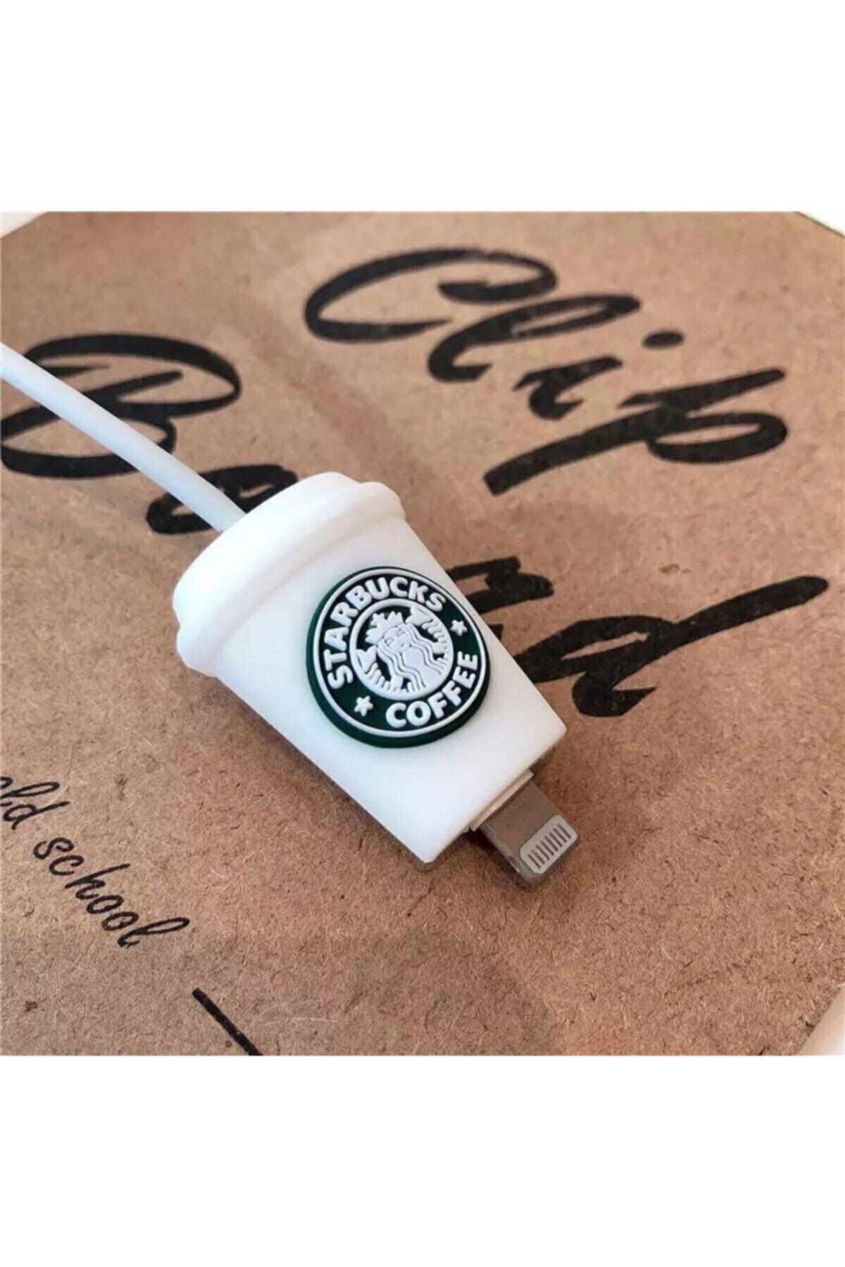 Telehome Sevimli Starbucks Kablo Koruyucu 1