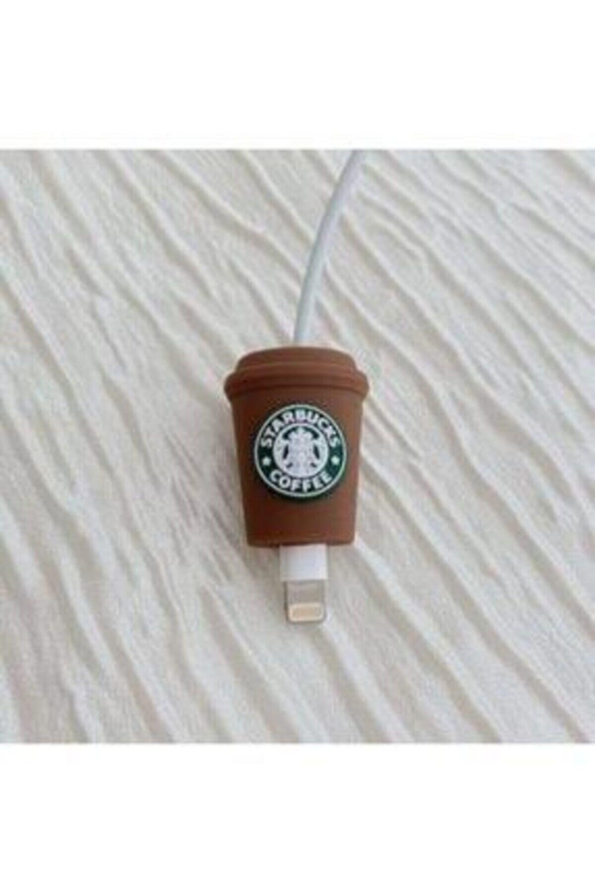 Telehome Sevimli Starbucks Kablo Koruyucu 2